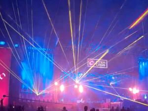 widowiska laserowe